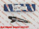 BOSCH Genuine common rail injector 0445120157 for SAIC-IVECO HONGYAN 504255185, FIAT 504255185