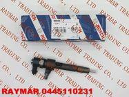 BOSCH Genuine common rail injector 0445110231 for Chevrolet 93342272, MWM Diesel 940704640034, VW 2P0 130 201