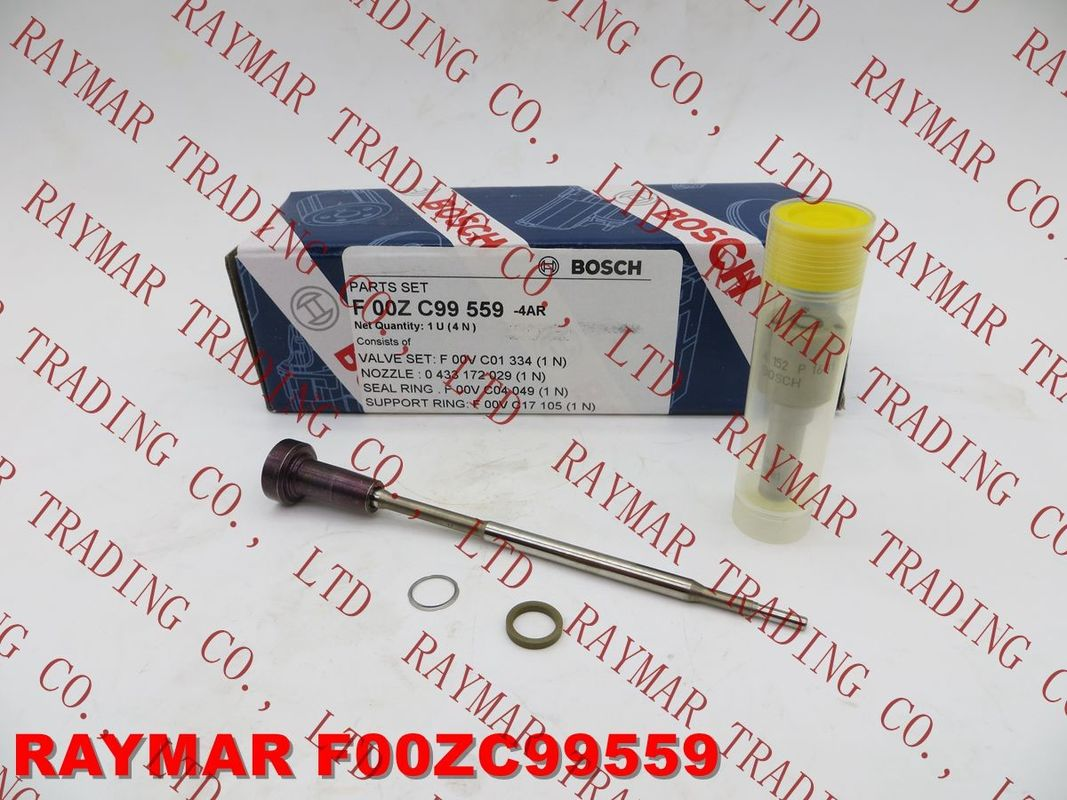 BOSCH Genuine common rail injector overhaul kit F00ZC99559 for 0445110310, DLLA152P1681 + F00VC01334 + F00VC99002