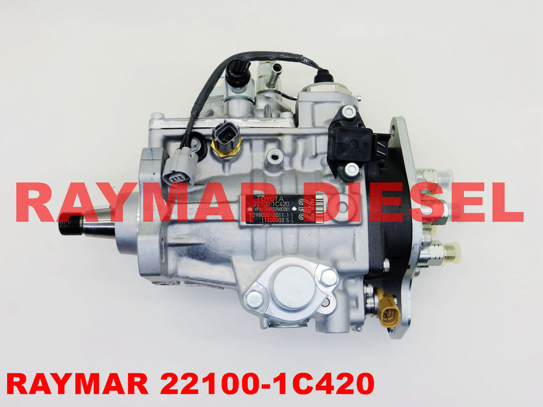 DENSO Genuine diesel fuel injection pump 098000-2010, 098000-2011, 098000-0010 for TOYOTA 1HD 22100-1C420, 22100-1C170